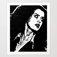 rocky horror picture show Art Prints featuring Magenta (Rocky Horror Picture Show) by Blake Lee Ferguson
