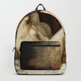 Titian - Danae receiving the Golden Rain Backpack