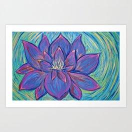 Blossom Ablaze Art Print