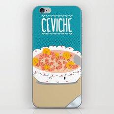 Ceviche iPhone & iPod Skin