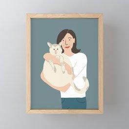 Julia Framed Mini Art Print