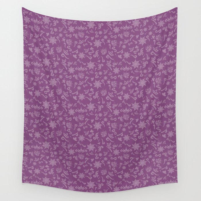 Princess Rapunzel Wall Tapestry