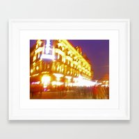 lee pace Framed Art Prints featuring London Pace by StevenARTify