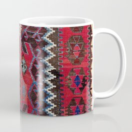 Obruk Konya Turkish  Antique Kilim Rug Coffee Mug