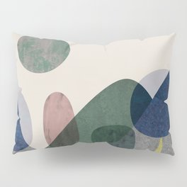 Trees and mountains Pillow Sham