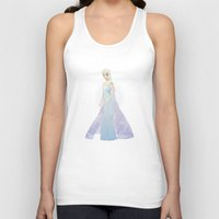 elsa Tank Tops featuring Elsa by Maggins