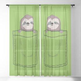 My Sleepy Pet Sheer Curtain