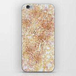 Antique Plans (Cityspace #181) iPhone Skin