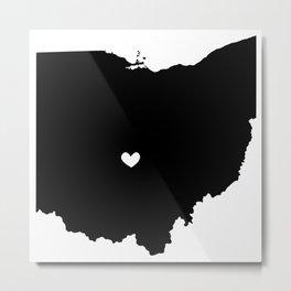 Columbus, Ohio, Home Metal Print
