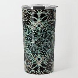 Doodles & Bits Lacy Mandala Travel Mug