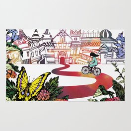Summer Cycling Rug