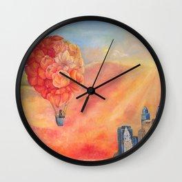 Hot Air Bloom Wall Clock