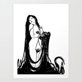 Morochas 6 Art Print