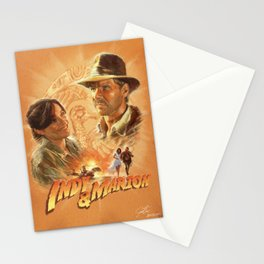 Indy with Marion Stationery Cards