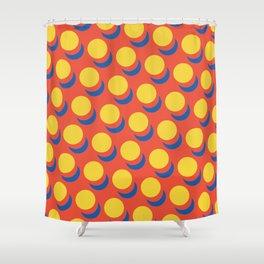 Wanna-Be Roy Lichtenstein Pattern Shower Curtain