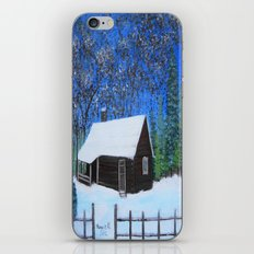 Covered with snow  iPhone & iPod Skin