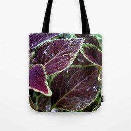 Purple Velvet - The Garden Series Tote Bag