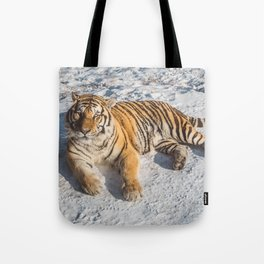Tiger at its best Tote Bag