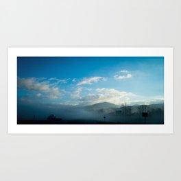 North Georgia Mountains Art Print