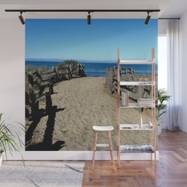 Footprints to the Beach Wall Mural