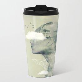 Geo Dress Metal Travel Mug