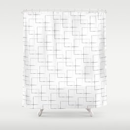 Cellular #620 Shower Curtain
