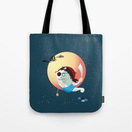 Captain Vermelho Tote Bag