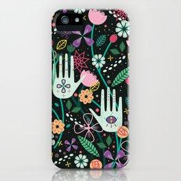 Botanical Hands iPhone Case