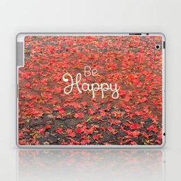 Just Be Happy Laptop & iPad Skin
