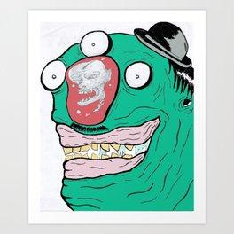 When minds wander.... Art Print
