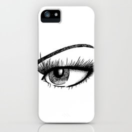 Sultry Eye iPhone Case