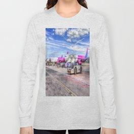 Wizz Air Aircraft Long Sleeve T-shirt