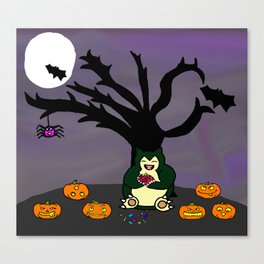 Halloween Munchies Canvas Print
