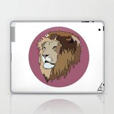 Wild Rectangular Lion Laptop & iPad Skin