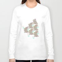 keith haring Long Sleeve T-shirts featuring Haring Squiggle by Indigo Images