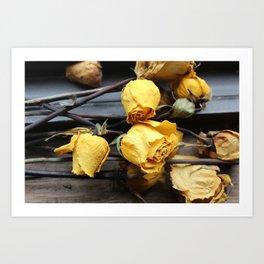Bunch of Roses Art Print