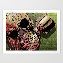 Code Red Art Print