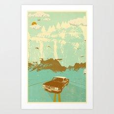KEITH'S 1961 PONTIAC TEMPEST Art Print