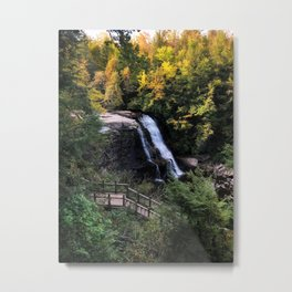Fall Waterfalls Metal Print