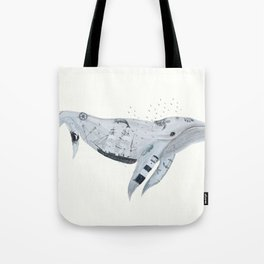 whale song Tote Bag