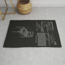 Pinball Machine Patent - Black Rug