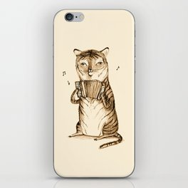 Accordion Tiger iPhone Skin