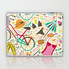 Seaside Cycle Laptop & iPad Skin