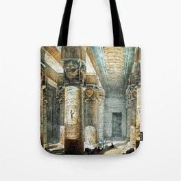 Tempel Dendera Tote Bag
