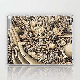 Japanese dragon and Koi fish Laptop & iPad Skin
