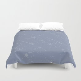 Powdered Blue Duvet Cover