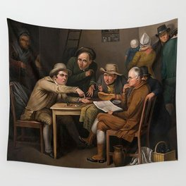 The Village Politicians Wall Tapestry