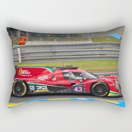 Motor Sport Racing Car Rectangular Pillow