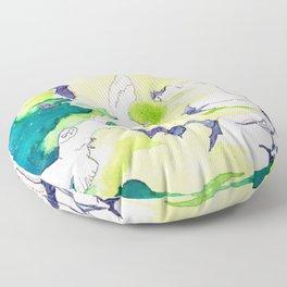 Reve de la Lune Floor Pillow
