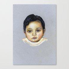 R-Portrait  Canvas Print